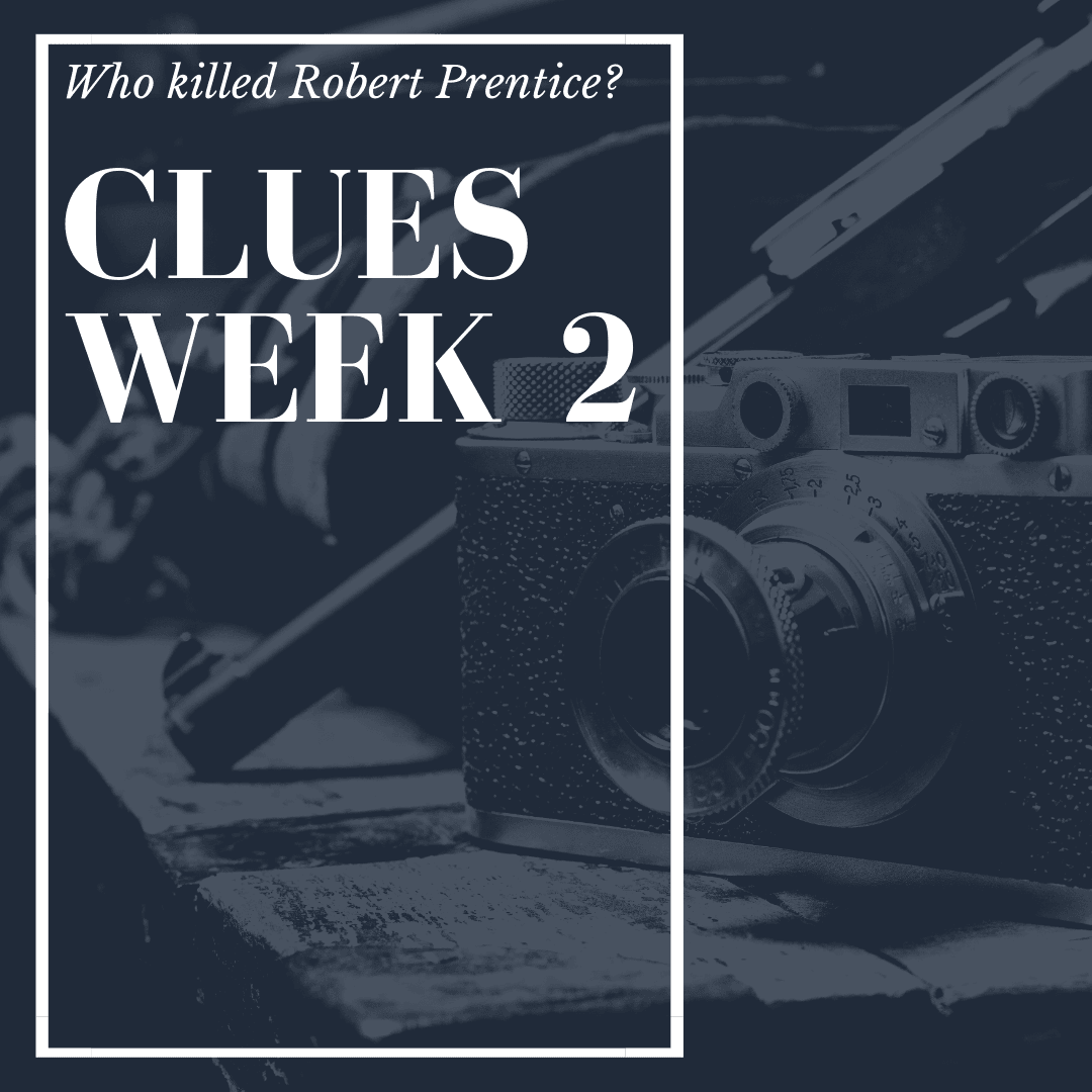 Murder Mystery Clues Week 2