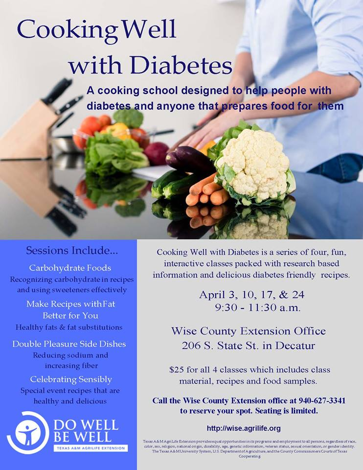 Cooking Well with Diabetes